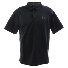 【8月11日までエントリーででP5倍~】アンダーアーマー(UNDER ARMOUR) ゴルフ ポロシャツ メンズ テックポロシャツ 1290140 BLK/GPH/GPH GO (Men's)