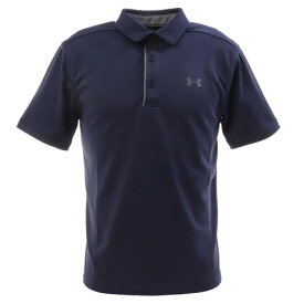 【8月11日までエントリーででP5倍~】アンダーアーマー(UNDER ARMOUR) ゴルフ ポロシャツ メンズ テックポロシャツ 1290140 MDN/GPH/GPH GO (Men's)