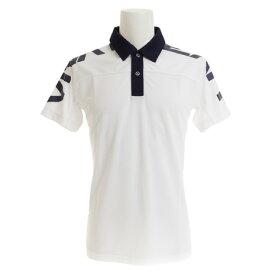 ビバハート(VIVA HEART) ゴルフウェア メンズ クールメッシュショルダーロゴ半袖ポロシャツ 011-27442-005 (Men's)