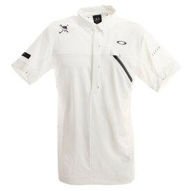 オークリー(OAKLEY) ゴルフ ウエア ポロシャツ メンズ Skull Message ポロシャツ FOA400793-100 (メンズ)
