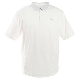 アンダーアーマー(UNDER ARMOUR) ゴルフ ポロシャツ メンズ アイソチル ポロシャツ 1350037 WHT/WHT/HGY GO (Men's)
