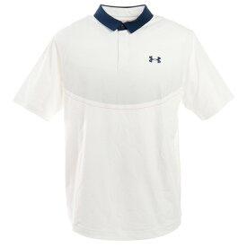 アンダーアーマー(UNDER ARMOUR) ゴルフ ポロシャツ メンズ アイソチル グラフィック ポロシャツ 1350980 WHT/HGY/ADY GO (Men's)