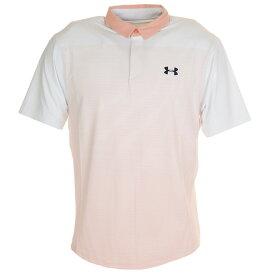 アンダーアーマー(UNDER ARMOUR) ゴルフ ポロシャツ メンズ アイソチル グラディエント ポロシャツ 1353821 WHT/PHF/ADY GO (Men's)