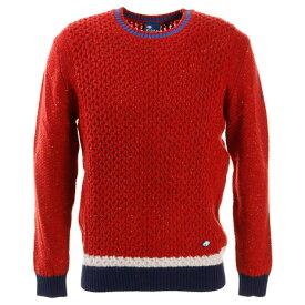 フィドラ(FIDRA) ゴルフ セーター メンズ メンズ ネップセーター FI38TJ04 RED (メンズ)