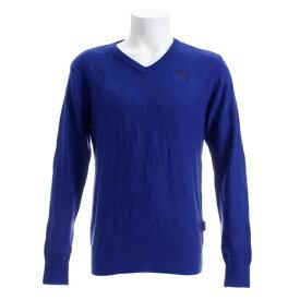 プーマ(PUMA) ゴルフウェア メンズ ゴルフ カモ Vネック セーター 923765-02 (Men's)