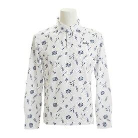 フィドラ(FIDRA) 【多少の傷汚れありの為大奉仕】ボタンダウン 長袖ポロシャツ FB110111WHT (Men's)