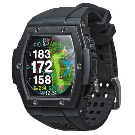 【9/20はエントリーで会員ランク別P10倍】ショットナビ(Shot Navi) 距離測定器 腕時計型 GPS クレスト ブラック Crest B Crest BK (メンズ、レディース)