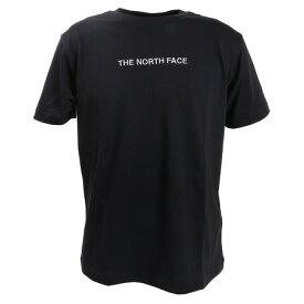 ノースフェイス(THE NORTH FACE) tシャツ 半袖 メンズ ロゴ刺繍 NT32001X K (Men's)