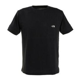 ノースフェイス(THE NORTH FACE) tシャツ 半袖 メンズ シンプルロゴポケットTシャツ NT32003X K (Men's)