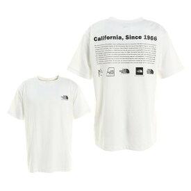 ノースフェイス(THE NORTH FACE) ヒストリカルロゴ 半袖Tシャツ NT32159 W (メンズ)