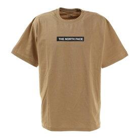 ノースフェイス(THE NORTH FACE) 半袖Tシャツ ショートスリーブボックスロゴティー NT321001X KT シンプル ベージュ (メンズ)