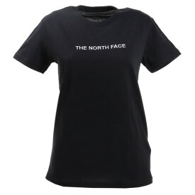 【7月10日限定 エントリー&楽天カード決済でP10倍〜】ノースフェイス(THE NORTH FACE) tシャツ 半袖 ロゴ刺繍 NTW3201X K (Lady's)