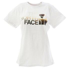 ノースフェイス(THE NORTH FACE) HALF DOME FLOW tシャツ 半袖 NTW31901X W 白 ホワイト ロゴT (レディース)