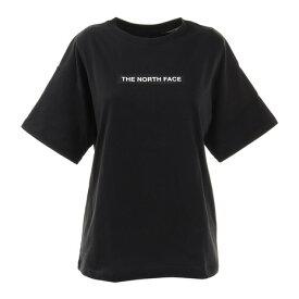 【8/1〜8/2はエントリーでP5倍】ノースフェイス(THE NORTH FACE) 半袖Tシャツ ショートスリーブボックスロゴティー NTW32101X K シンプル (レディース)