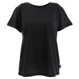 ノースフェイス(THE NORTH FACE) ポケット tシャツ 半袖 NTW31935 K (レディース)