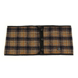 SCOPEDOG236 【多少の傷汚れありの為大奉仕】スヌード Blanket Check B-SN-BC-BRW-FR (Men's、Lady's)