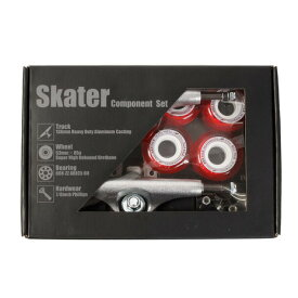 スケーター(SKATER) スケートボード エクストリームスポーツ スケーター コンポーネントセット SKBOX62 (メンズ、レディース、キッズ)
