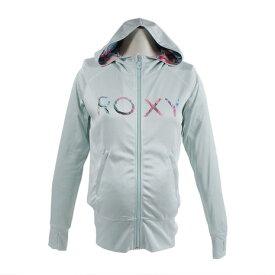 ロキシー(ROXY) HOLIDAY LOGO PARKA 長袖ZIPラッシュガード 18SPRLY181018BLU (Lady's)