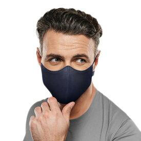 ブロック(BLOCH) 抗菌 防臭 マスク ソフトストレッチマスク ネイビー A001A NVY (メンズ)