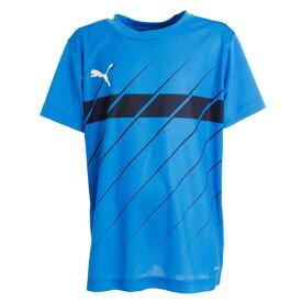 プーマ(PUMA) ジュニア 半袖Tシャツ 656653-02 BLU オンライン価格 (Jr)
