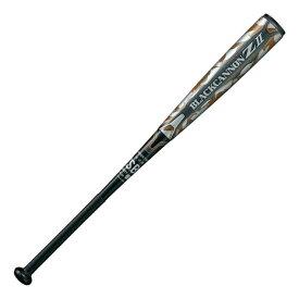 【8月5日24h限定エントリーでP10倍〜】ゼット(ZETT) 野球 軟式 バット ブラックキャノンZ2 84cm/平均700g BCT35924-1900 付属品:A (Men's)