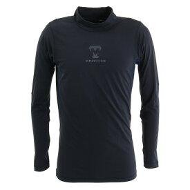 美津和タイガー(mitsuwa-tiger) HEAT ハイネック長袖シャツ UWMTYF-031-048 防寒 野球 冬用 吸汗速乾 保温 裏起毛 (メンズ)