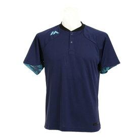 MAJESTIC Authentic Tech 2 ボタン トレーニング 半袖Tシャツ XM01-NVY1-MAJ-0006 (Men's)
