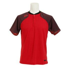 MAJESTIC Authentic Tech 2 ボタン トレーニング 半袖Tシャツ XM01-RED1-MAJ-0006 (Men's)