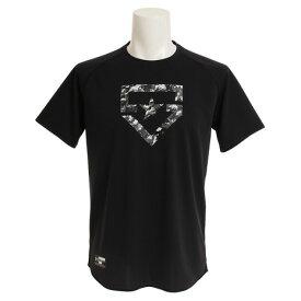 アンダーアーマー(UNDER ARMOUR) ベースボールTシャツ #1313586 BLK/BLK BB (Men's)