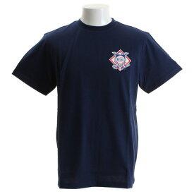 【12月1日24h限定エントリーでP10倍〜】マジェスティック(MAJESTIC) 【多少の傷汚れありの為大奉仕】Tシャツ メンズ ナショナル・リーグ 半袖Tシャツ MM01-NAL-8S32-NVY 【野球 スポーツ ウェア 一般】 (メンズ)