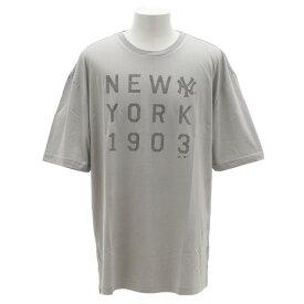 MAJESTIC UT ビック 半袖Tシャツ MM01-NYK-8S07-GRY (Men's)