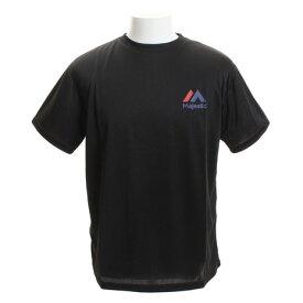 【12月1日24h限定エントリーでP10倍〜】MJ・TEAM ロゴトレーニングTシャツ XM01-TMJ-8S200-BLK1 (Men's)