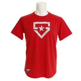 アンダーアーマー(UNDER ARMOUR) ベースボールTシャツ #1313586 RED BB (Men's)