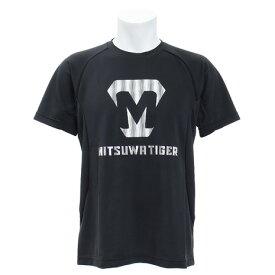 【12月1日24h限定エントリーでP10倍〜】美津和タイガー(mitsuwa-tiger) Tシャツ 半袖 ロゴプリント KSMTKS-055-090 (Men's)