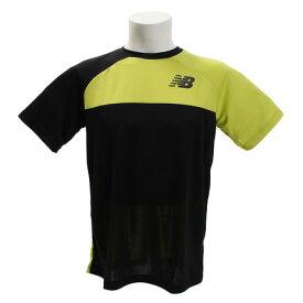 ニューバランス(new balance) ベーシックカラーブロックラグランゲームTシャツ JMTT8029TCG (Men's)