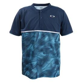 オークリー(OAKLEY) Tシャツ メンズ 半袖 Slant Graphic Henry 1.0 FOA400857-6ZZ (Men's)