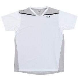 オークリー(OAKLEY) テニス Tシャツ メンズ 半袖 Slant Hybrid 1.0 FOA400861-100 (メンズ)