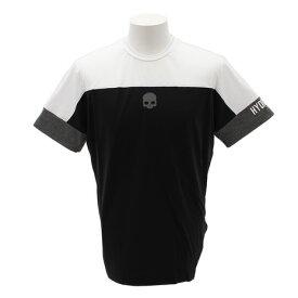 ハイドロゲン(HYDROGEN) テク Tシャツ T00074BK/WT (Men's)