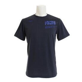 パシフィック(PACIFIC) ドライプラス プリントTシャツ PT18FM455 NVY (Men's)