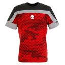 ハイドロゲン(HYDROGEN) TSHIRT CAMO Tシャツ T00126 RED (Men's)