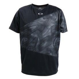 【12月5日24h限定エントリーでP10倍〜】オークリー(OAKLEY) Tシャツ メンズ 半袖 Slant Graphic 1.0 FOA400859-02E (メンズ)