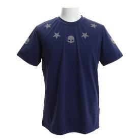 ハイドロゲン(HYDROGEN) テク Tシャツ T00026BNAVY (Men's)