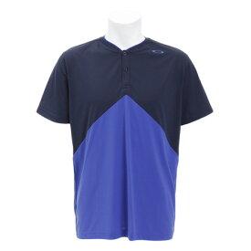 オークリー(OAKLEY) Tシャツ メンズ 半袖 ENHANCE SLANT HENLEY 457723-6AC (Men's)