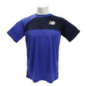 ニューバランス(new balance) ベーシックカラーブロックラグランゲームTシャツ JMTT8029PC (Men's)
