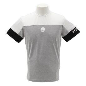 ハイドロゲン(HYDROGEN) テニス ウェア メンズ Tシャツ 半袖 T00074GY/WT (メンズ)