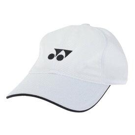 ヨネックス(YONEX) テニス メッシュキャップ 40002-011 白 (メンズ)