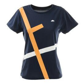 エレッセ(ELLESSE) テニスウェア レディース コートラインシャツ EW021307 NY (レディース)