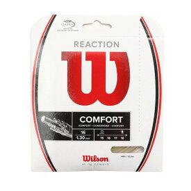 ウイルソン(WILLSON) 硬式テニスストリング リアクション 16(REACTION 16) WRZ948200 (Men's、Lady's、Jr)
