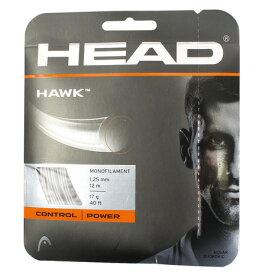 4/1限定!エントリー&楽天カード決済でポイント12倍〜! ヘッド(HEAD) 硬式テニスストリング HAWK 281103 (Men's、Lady's、Jr)