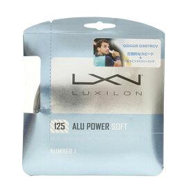 4/1限定!エントリー&楽天カード決済でポイント12倍〜! ウイルソン(WILLSON) 硬式テニスストリング アルパワー ソフト125(ALU POWER SOFT125) WRZ990101 (Men's、Lady's、Jr)